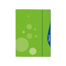 Aplankas A3 kartoninis su guma žalias 00237642 HERLITZ, D01-227