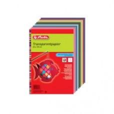 00246413 HERLITZ Pergamentinis popierius 40g/m 20x30cm 10spalvų B07-256