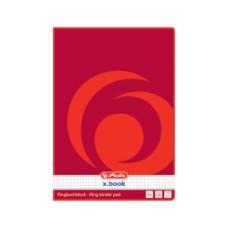 00311431 HERLITZ Bloknotas A4 50l langeliais B03-016