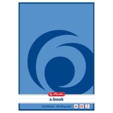 B03-071 Bloknotas A4 50l X.BOOK linija 00717413 HERLITZ/10/80