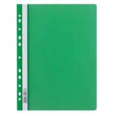 009014 LEVIATAN Segtuvėlis sk.viršeliu ir perf A4 žalias D04-357