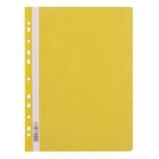 009015 LEVIATAN Segtuvėlis sk.viršeliu ir perf A4 geltonas D04-356