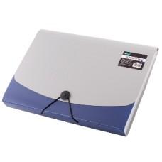 009478 LEVIATAN Dėklas dokumentams su guma ir 6 skyrių D05-224