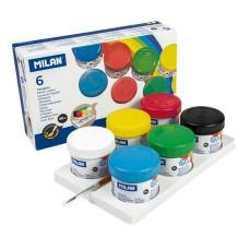 R15-112 Guašas, 6 spalvų, 40ml, 03206, MILAN