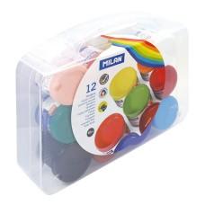 R15-113 Guašas, 12 spalvų, 40ml, 03212, MILAN