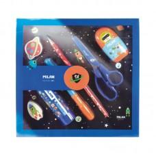 08736SHSB MILAN Mokyklinis rinkinys berniukui SH mėlynas M10-056