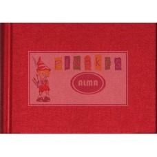 100255 KRESKA Albumas eskizams A4 80l 90g/m raudonas B04-433