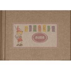 100279 KRESKA Albumas eskizams A4 80l 90g/m rudas B04-431