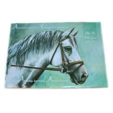 B04-067 Akvarelinis popierius A4 15l 210g/m 100941 KRESKA/10