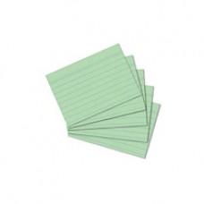 B11-301 Lapeliai kartotekai A8 100vnt žali linija 1083633 HERLIT