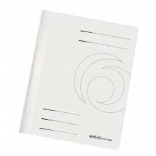 D01-038 Segtuvėlis A4 240g baltas su įsegėle10902450 HERLITZ/25/100
