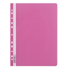 110382 LEVIATAN Segtuvėlis sk.viršeliu ir perf A4 rožinis D04-349