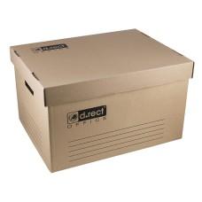 Archyvinė dėžė su dangčiu 545x363x317mm 110786 LEVIATAN, D06-303