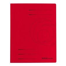 D01-0394 Segtuvėlis A4 su įsegėle raudonas 11094695 HERLITZ/1
