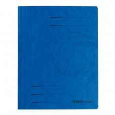 D01-0395 Segtuvėlis A4 su įsegėle mėlynas 11094703 HERLITZ/1