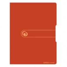 11282928 HERLITZ Aplankas A4 su 20 įmaučių oranžinis D04-259