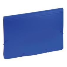 120-1158 KW TRADE Dėklas dokumentams su guma ir 12 skyrių EAGLE mėlynas 9112C D05-221