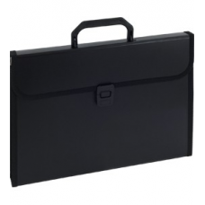 120-1219 KW TRADE Dėklas dokumentams su 12 skyrių EAGLE juodas 911A D05-218