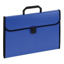120-1221 KW TRADE Dėklas dokumentams su 12 skyrių EAGLE mėlynas 911A D05-219