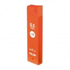 1851070524 MILAN Šerdelės aut.pieštukui 0.5mm HB 12vnt R05-084