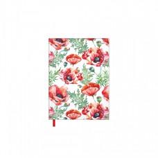 2417900538 TIMER Kalendorius MOKSLO KNYGA Red Poppies B13-432
