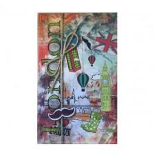 2417910668 TIMER, Stilingas jaunuolio kalendorius LONDON, B13-660