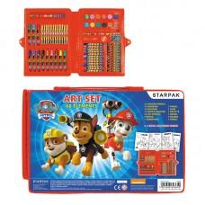 275562 STARPAK Dailės priemonių rinkinys PATROL M10-204