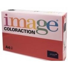 617029 IMAGE Spalvotas spausdinimo popierius A4 80g/m 500l tamsiai raudonas/29 B07-544