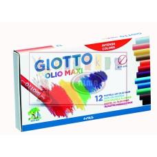 R08-051 Aliejinės kreidelės 12sp Giotto Olio 293000 FILA