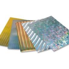 301009 FOLIA Folija holografinė 50x70cm 30l B10-624