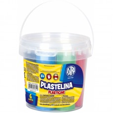 303106001 ASTRA Plastilinas 6sp kibirėlyje M05-620