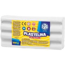 303117002 ASTRA Plastilinas 500g baltas M05-680