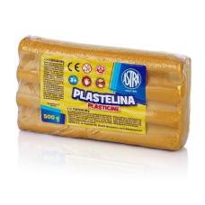303117014 ASTRA Plastilinas 500g auksinis M05-681