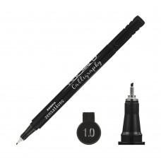 30641 ZEBRA Kaligrafinis žymiklis 1.0mm juodas R13-650