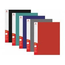 30673 PAPIRUS Aplankas A4 su 30 įmaučių STRIPE įvairių spalvų D04-211