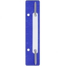 31512-02 PAPIRUS Įsegėlės dokumentams plastikinės 20vnt mėlynos D08-2001