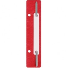 31512-03 PAPIRUS Įsegėlės dokumentams plastikinės 20vnt raudonos D08-2002