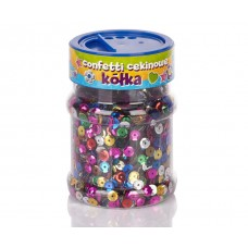 Blizgučiai konfeti 100g RUTULIUKAI, 335114005 ASTRA, M09-537
