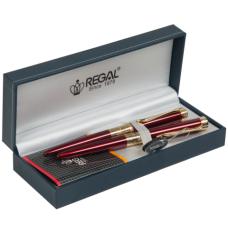 35501B+R REGAL Rinkinys tušinukas ir tušinukas bordo R03-2966