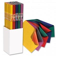 B10-302 Dovanų pakavimo popierius 70x200cm gelt-oranž 3601440 FOLIA