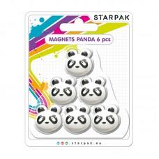 Magnetai PANDA, 6vnt, 398962 STARPAK