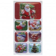 40002743 SUSY CARD Lipdukai KALĖDŲ SENIS 1lapas M11-268