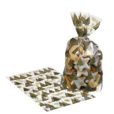40003368 SUSY CARD Skaidrios folijos maišelis dovanoms 14.5x23cm 10vnt B10-560