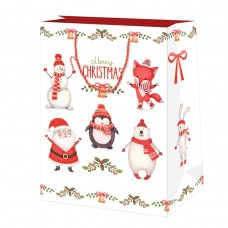 40014340 SUSY CARD N Maišelis dovanų pakavimui Kalėdinis B10-986