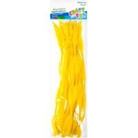 Virvelės pynimui geltonos 30vnt, 411445 STARPAK, M10-5421