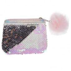 Vaikiška piniginė su blizguciais rožinė, 422400 STARPAK, M01-933