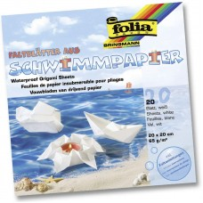 43200 FOLIA Popierius lankstymui 20x20m assorti 65g/m 20vnt B06-711