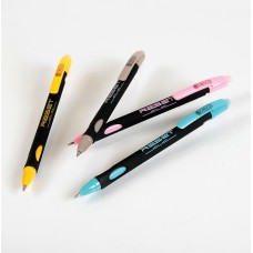 R02-041 Automatinis, ištrinamas rašiklis RESET mėlynas 450005 CRESCO/36
