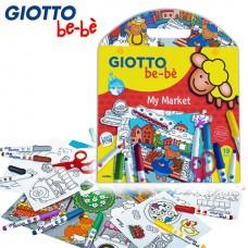 Rinkinys GIOTTO BE-BE MY MARKET 19vnt. 465700 FILA/LYRA, M10-030