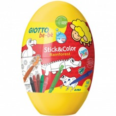 Rinkinys GIOTTO BE-BE STICK&COLOR EGG 472700 FILA/LYRA, M10-029